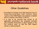 other guidelines13