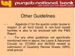 other guidelines15