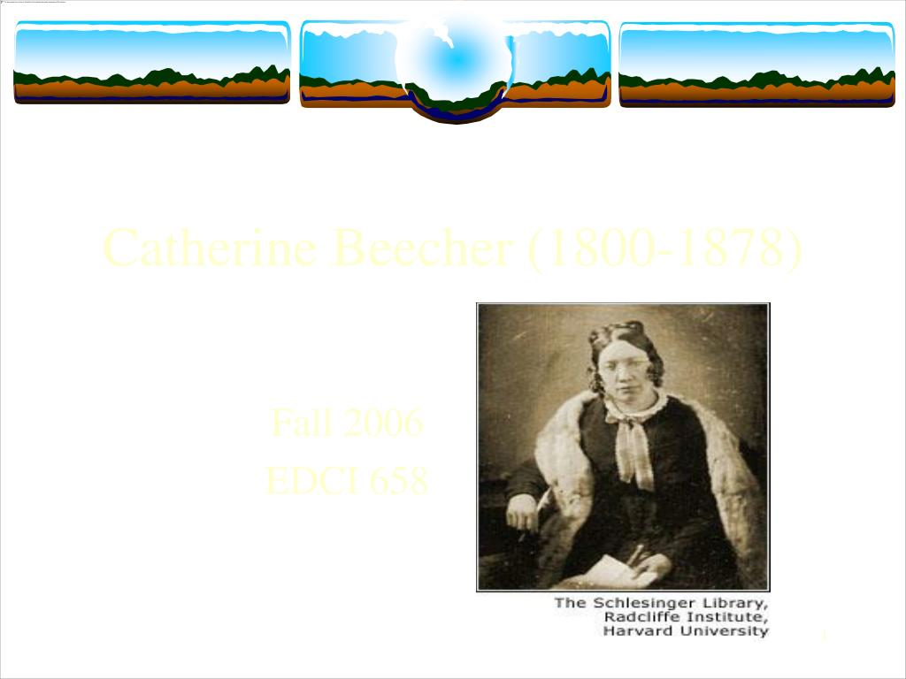 catherine beecher 1800 1878 l.