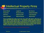 intellectual property firms