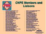 cnpe members and liaisons
