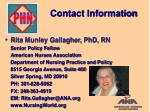 contact information15