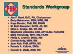 standards workgroup