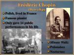 fr d ric chopin 1810 1849