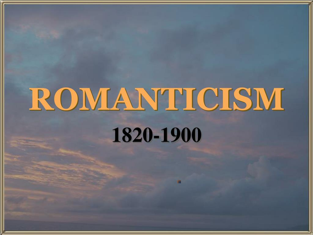 romanticism l.