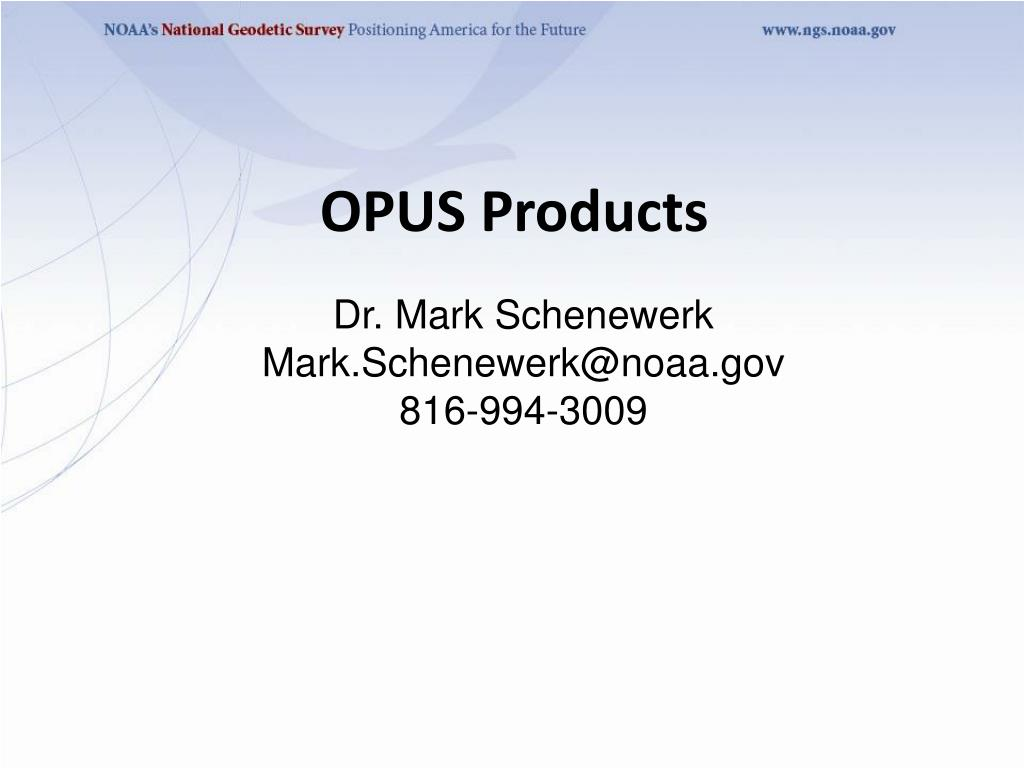 opus products l.