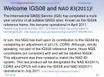 welcome igs08 and nad 83 2011