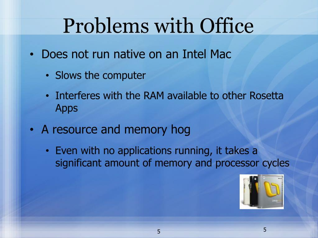 Problems with Office