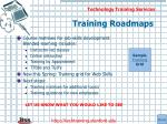training roadmaps