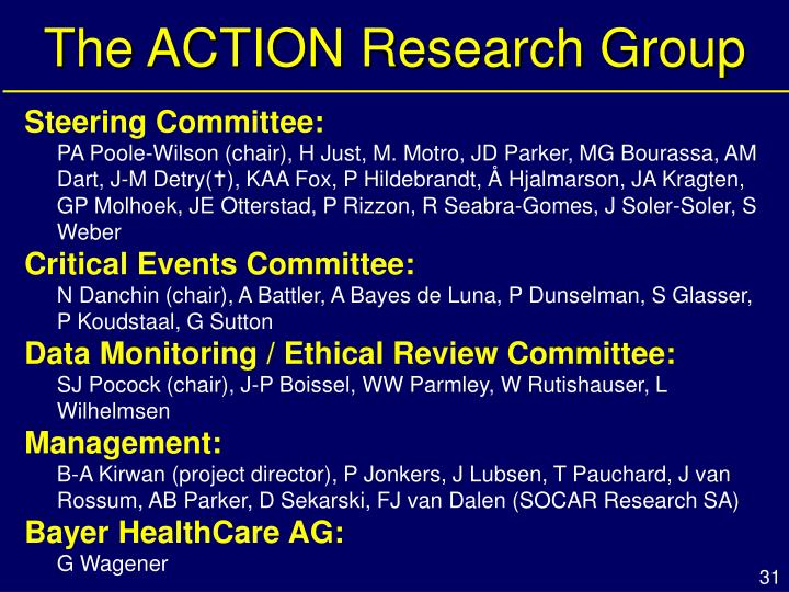 The ACTION Research Group