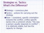 strategies vs tactics what s the difference