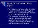 methotrexate neurotoxicity study1