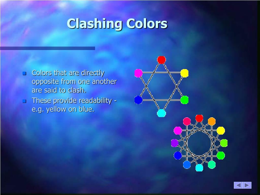 Clashing Colors