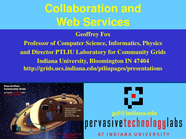 collaboration and web services n.