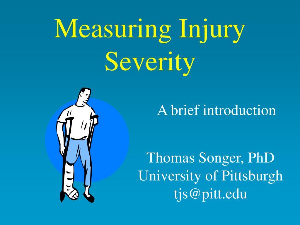 measuring injury severity l.