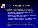 dr joseph m juran106