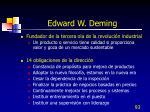 edward w deming