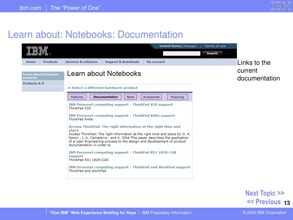 Learn about: Notebooks: Documentation