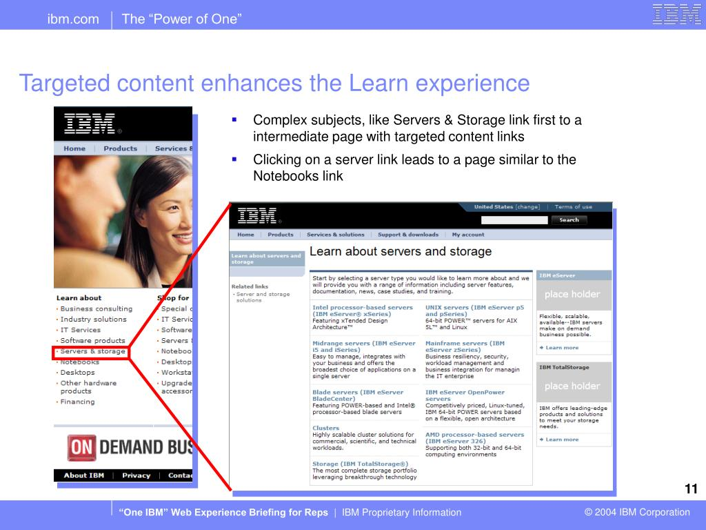 Targeted content enhances the Learn experience
