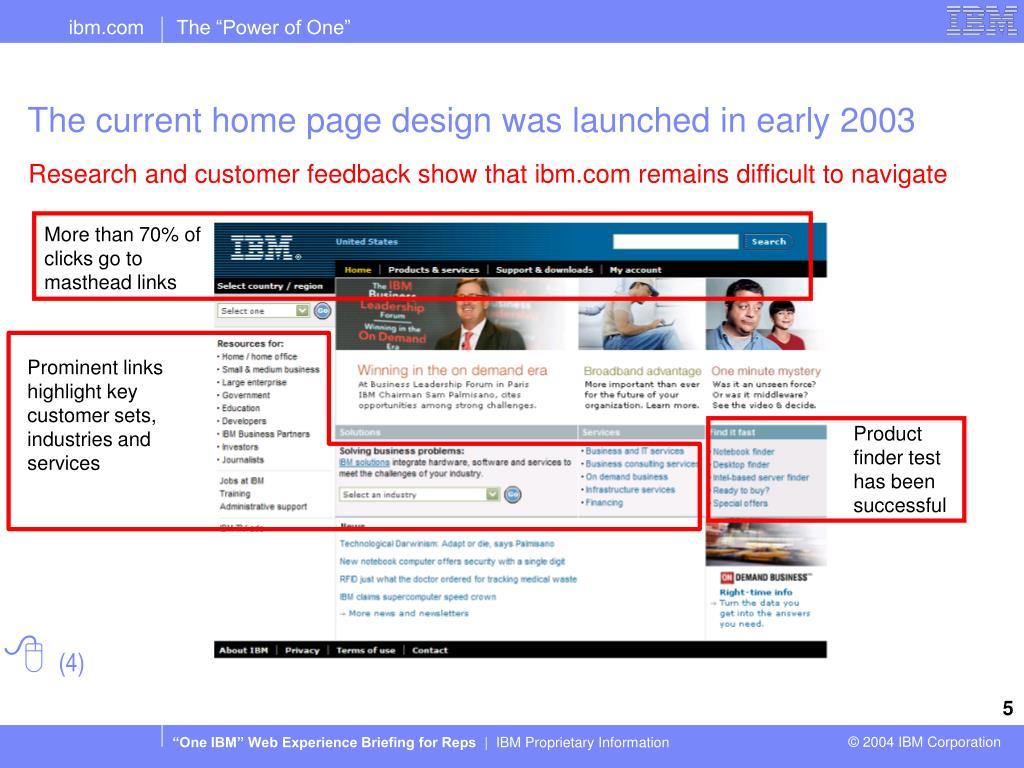 More than 70% of clicks go to masthead links