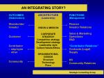 an integrating story
