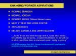 changing worker aspirations