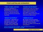 four australian scenarios