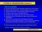 future of organisations scenario 2