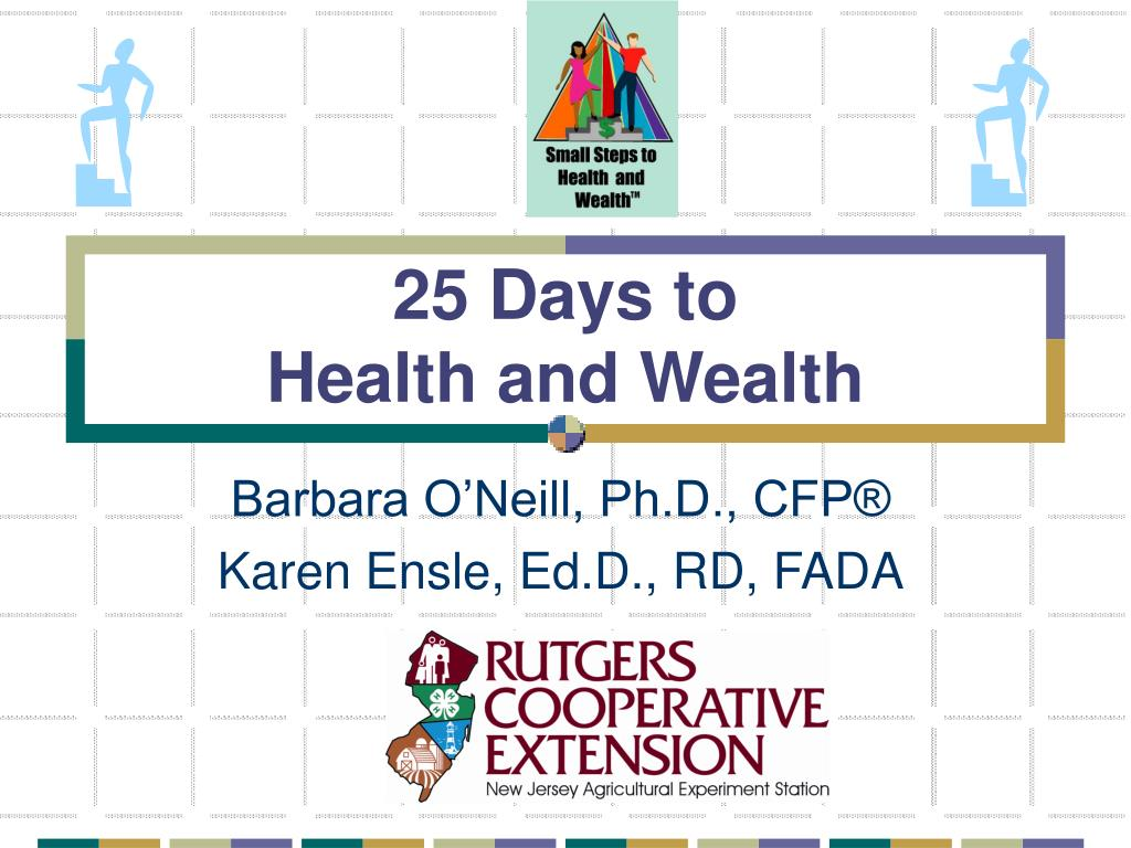 25 days to health and wealth l.