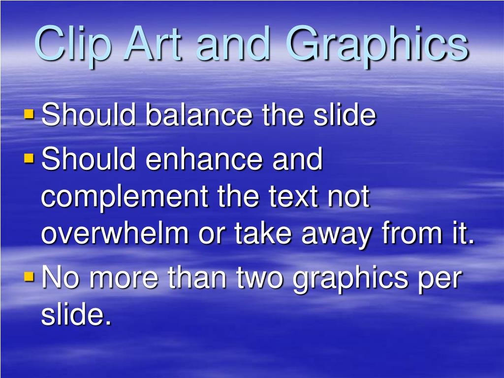 Clip Art and Graphics