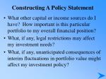 constructing a policy statement17