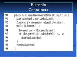 ejemplo containers77