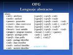 ofg lenguaje abstracto22