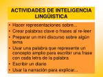 actividades de inteligencia ling istica84