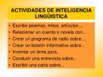 actividades de inteligencia ling istica85