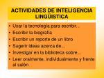 actividades de inteligencia ling istica86