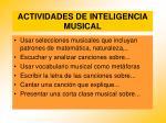 actividades de inteligencia musical91