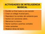 actividades de inteligencia musical92