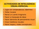 actividades de inteligencia visual espacial96