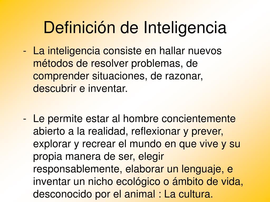 definici n de inteligencia l.