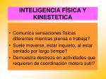 inteligencia f sica y kinestetica67