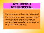 inteligencia interpersonal58