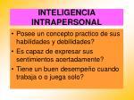 inteligencia intrapersonal63