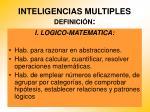 inteligencias multiples definici n