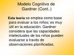 modelo cognitivo de gardner cont20