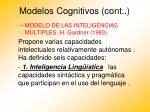 modelos cognitivos cont