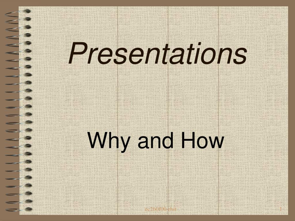 presentations l.