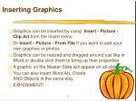 inserting graphics