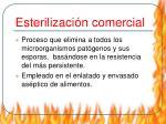 esterilizaci n comercial