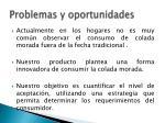 problemas y oportunidades